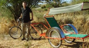 BEN Namibia bicycle ambulance