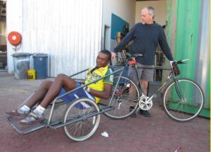 Bicycling Empowermnet Trailer--Namibia